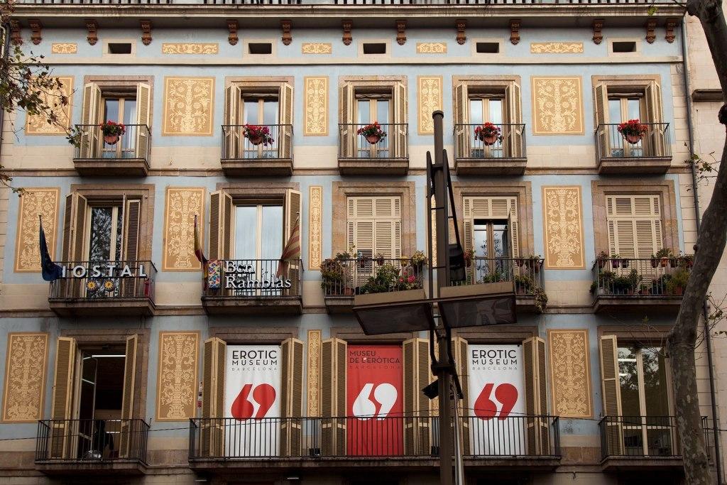 ساختمان موزه عطر بارسلونا در کشور اسپانیا
