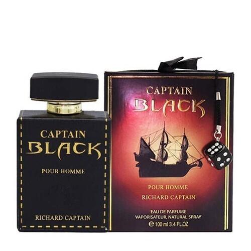 خرید ادکلن کاپتان بلک ریچارد مردانه 100میل اصل اورجینال از گالری فرانس پاریس