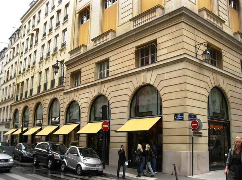 سوغات فرانسه پاریس فرانس پاریس خیابان فبورگ سن انوره