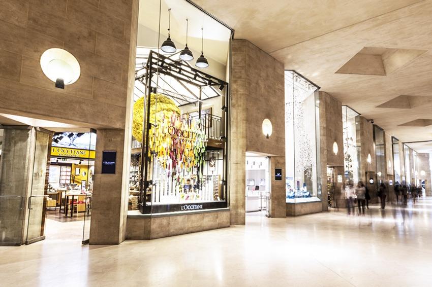 مرکز خرید کاروسل دو لوور در شهر پاریس فرانسه