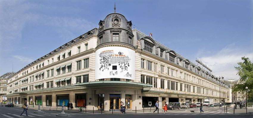 معرفی مرکز خرید بن مارشه پاریس فرانسه